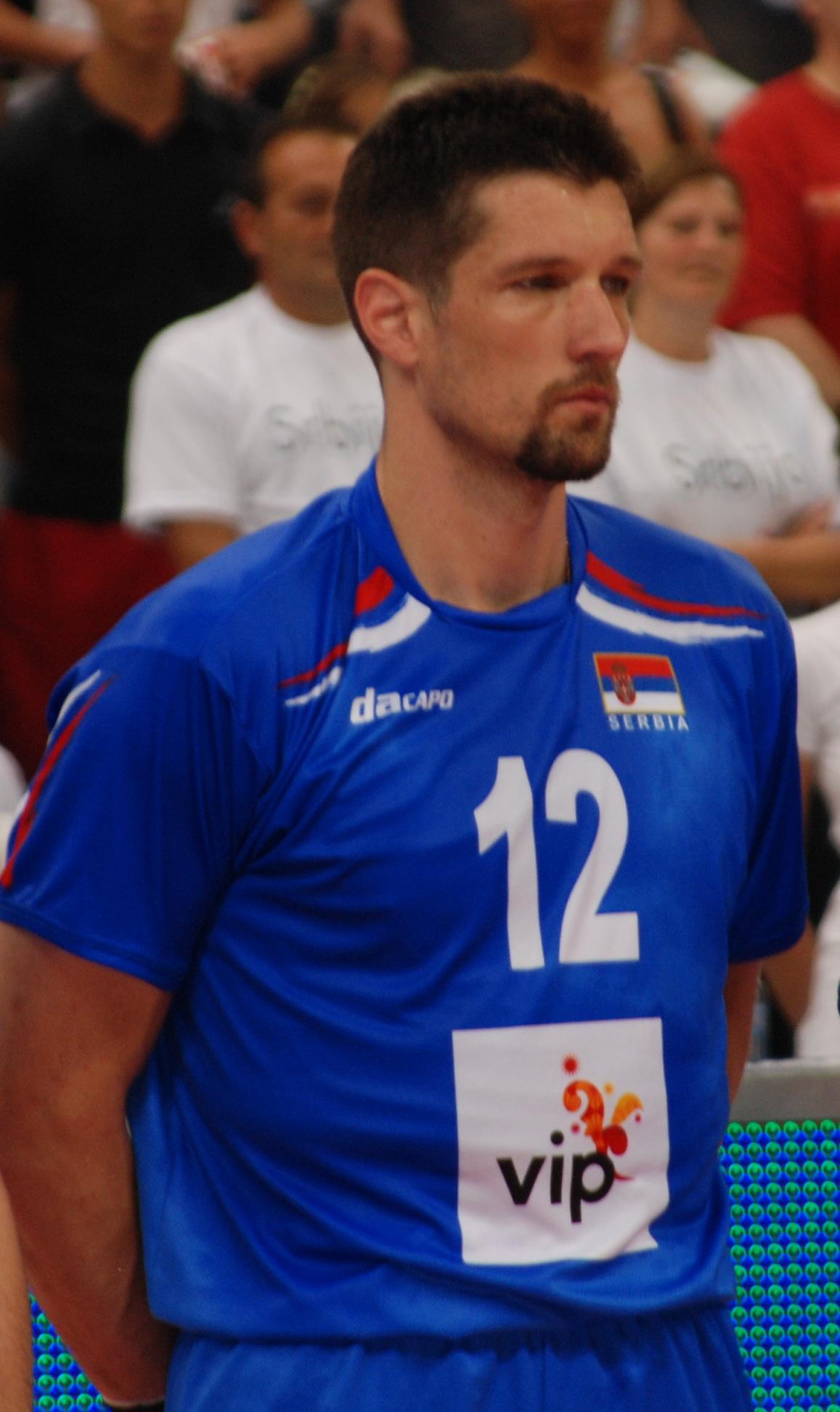 Andrija Gerić, bivši kapiten odbojkaške reprezentacije Srbije, je danas uspešan sportski psiholog | Foto: George M. Groutas, Flickr