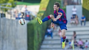 David Babunski, fudbaler Crvene Zvezde, bivši učenik Barselonine La Masije