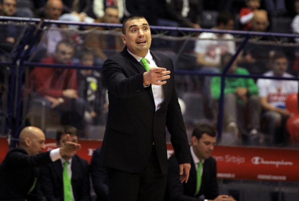 Dejan Milojević, bivši košarkaš i trener Košarkaškog kluba Mega Leks | Foto: KK Mega Leks