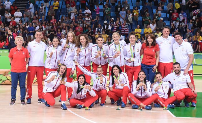 Srbija, košarkaška reprezentacija, Olimpijada Rio, bronzana medalja