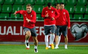 Anaerobni trening, sprint, Srbija fudbal reprezentacija
