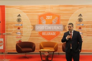Goran Šašić Euroleague Sport Conference 2017