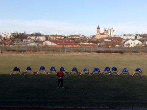 Kadeti FK Jasenica na treningu
