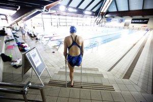 Ana Jovovic trening plivački klub 11. April