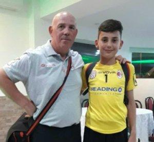 Saladin Mecinović GK FC National